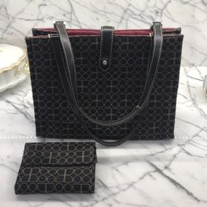 Kate Spade Purse & Matching Wallet